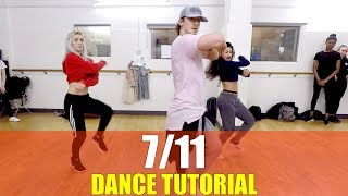 7/11 by Beyonce Dance TUTORIAL | @brendonhansford choreography