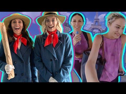 BEST FRIENDS DRESS LIKE TWINS IN PARIS thumbnail