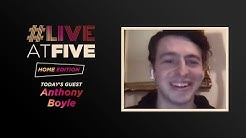 Broadway.com #LiveatFive: Home Edition with Tony Nominee Anthony Boyle