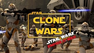 """The Clone Wars Mod - Ep1- """"Begun The Clone Wars Have"""" (Star Wars RTS Lets Play)"""