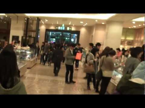 Food Hall at Shinsegae Department Store