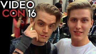 iblali auf der videocon kennen gelernt videocon vienna vienna comiccon vlog   luigikid german