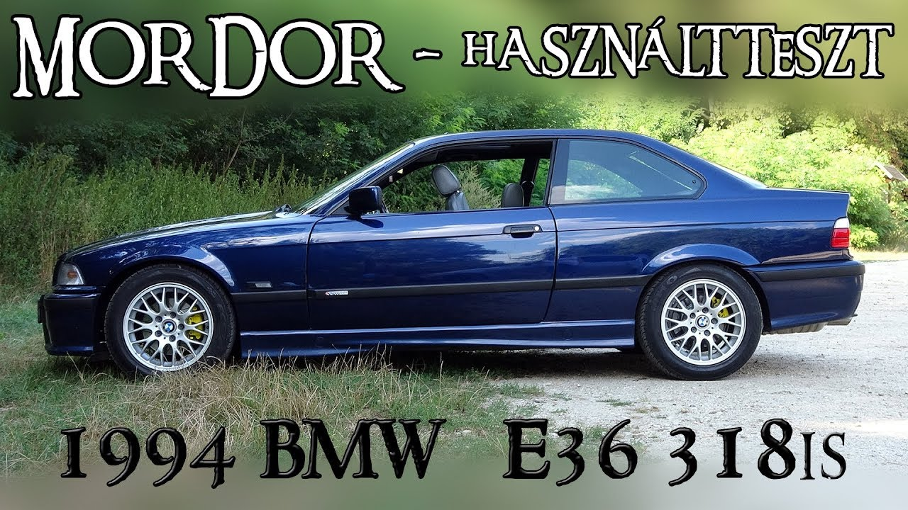 1994 bmw 318is e36 coupe haszn ltteszt youtube. Black Bedroom Furniture Sets. Home Design Ideas