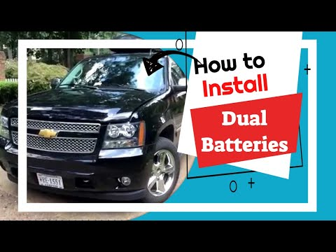 how to install dual batteries - national luna chevy suburban introduction  part 1 - youtube
