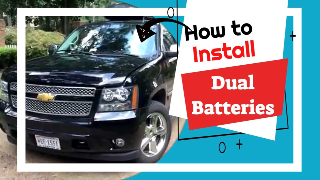 hight resolution of how to install dual batteries national luna chevy suburban introduction part 1 youtube