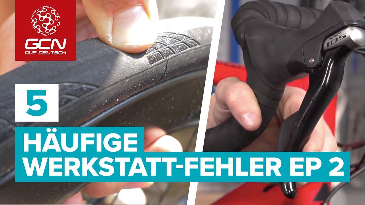Fahrrad Wartung - 5 Häufige Werkstatt-Fehler | Episode 2