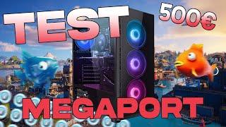 GAMEPLAY TEST FORTNITE PC GAMER MEGAPORT 555€ GTX 1050