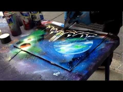 New York Spray Paint Art