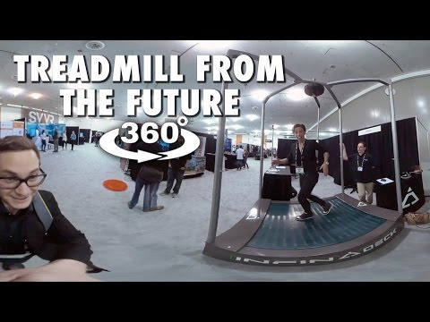 TREADMILL FROM THE FUTURE (360° 4K VR)