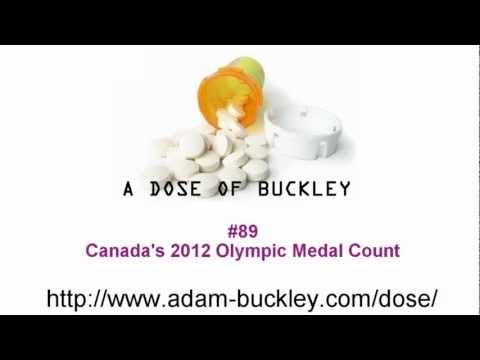 Canada's 2012 Olympic Medal Count - A Dose of Buckley