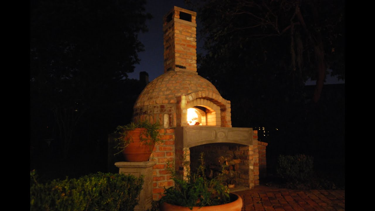 Diy Brick Pizza Oven Outdoor