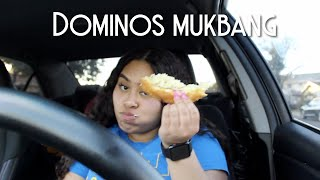 DOMINOS MUKBANG: READING MY YOUTUBE COMMENTS