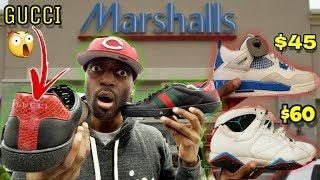 I FOUND GUCCI SHOES & JORDANS AT MARSHALLS FOR CRAZY STEALS!!!