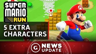 Super Mario Run's 5 Extra Playable Characters - GS News Update