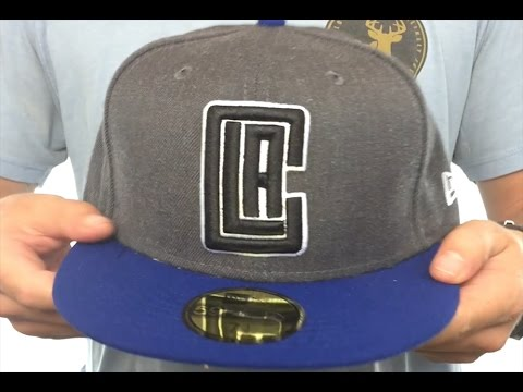 e62918e7527 Clippers  SHADER MELT-2  Grey-Royal Fitted Hat by New Era - YouTube