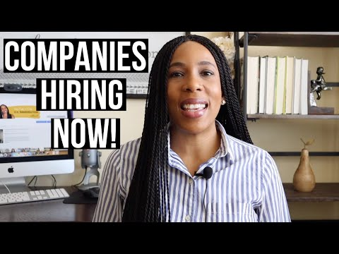 Need a JOB? 6 companies that are HIRING right NOW!