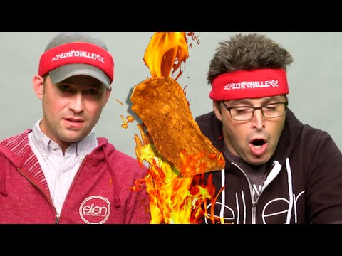 Andy vs. Andy: #OneChipChallenge
