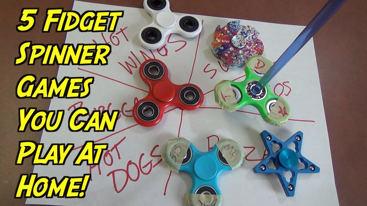 5 Fidget Spinner Games You Can Play At Home Fidget