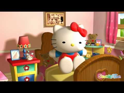 Hello Kitty Animation 3D Animation in HD