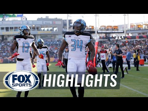 Cameron Artis-Payne runs the Renegades to first victory, 25-18, over Wildcats | 2020 XFL HIGHLIGHTS