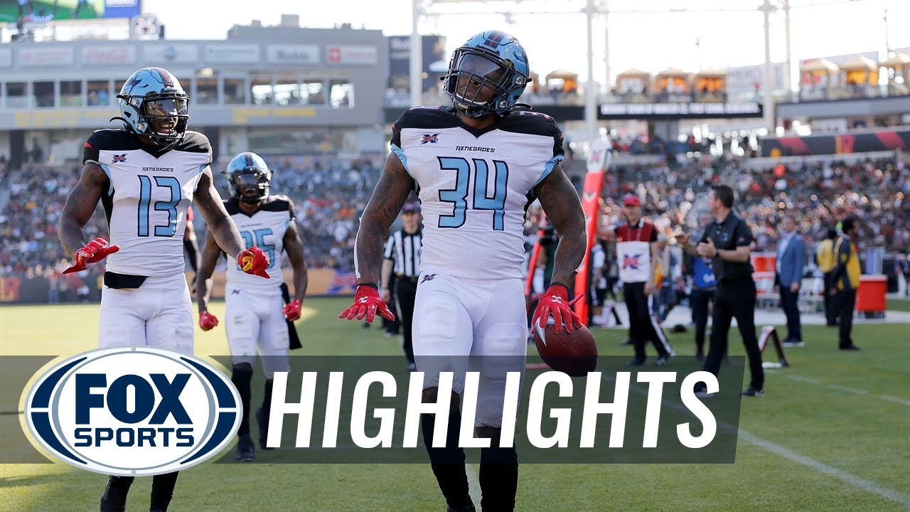 Cameron Artis-Payne runs the Renegades to first victory, 25-18, over Wildcats | XFL ON FOX