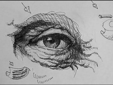 Pen ink drawing tutorials how to draw eyes with wrinkles youtube pen ink drawing tutorials how to draw eyes with wrinkles ccuart Image collections