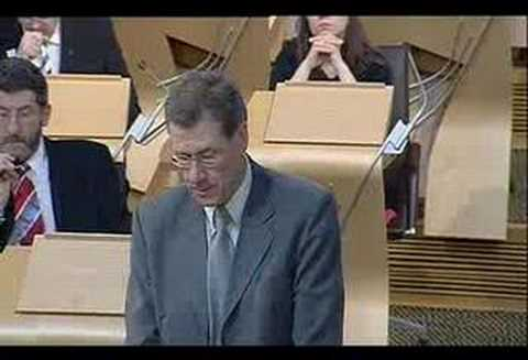 Kenny MacAskill - Legal Services Debate Part 1