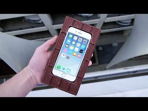 Can a Chocolate Bar Protect an iPhone 6S from 100 FT Drop Test?
