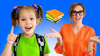 The First Day of School Song | Preschool toddler educational video from Hey Dana
