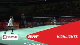 FUZHOU CHINA OPEN 2018 | Badminton WS - QF - Highlights | BWF 2018