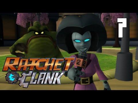 Ratchet & Clank (2002) #7 - Planet Rilgar - Blackwater City [PS2 Walkthrough]