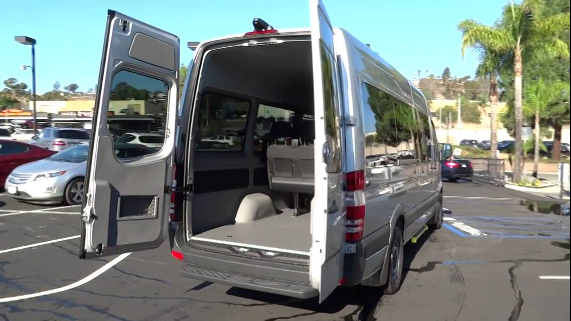 2015 mercedes benz sprinter passenger vans el cajon ca for Mercedes benz van 2015