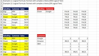 Highline Excel 2016 Class 16: Conditional Formatting to Visualize Data: Built-in & Logical Formulas
