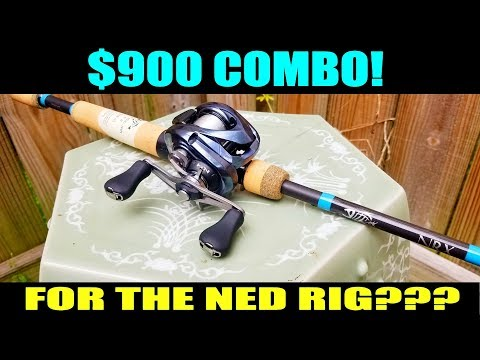$900 SHIMANO/GLOOMIS COMBO... FOR THE NED RIG???