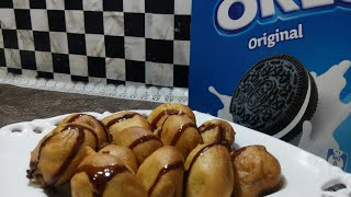 Deep fried Oreo cookies quick easy recipe in 2 mins only