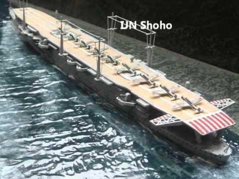 Japanese aircraft carriers Akagi, Hiyo class & Zhuiho class by Erick Navas