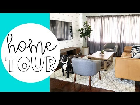 MID CENTURY MODERN FURNISHED HOME TOUR