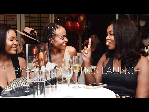 Vlog | ByArt Launch | Meeting other South African Youtubers & Makeup Artists