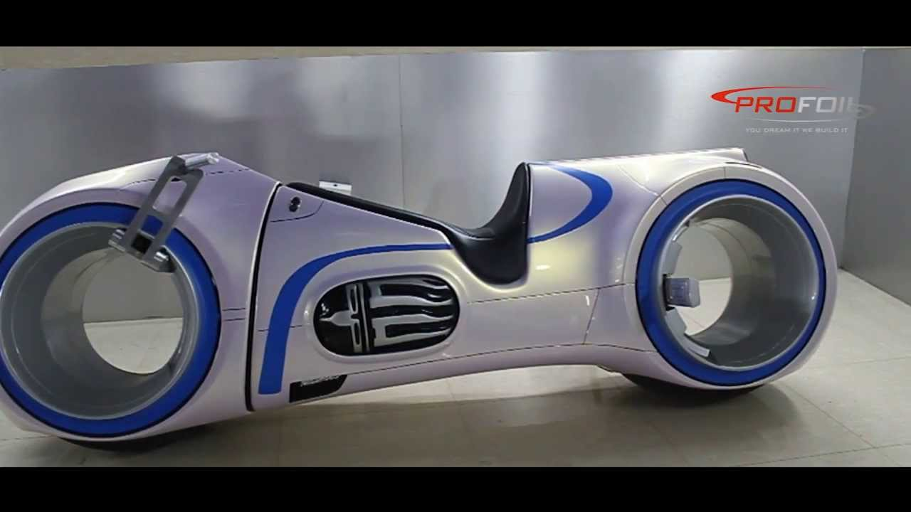 CAR WRAP DUBAI - NEUTRON (TRON MOVIE BIKE ) WRAPPED BY PROFOIL ...