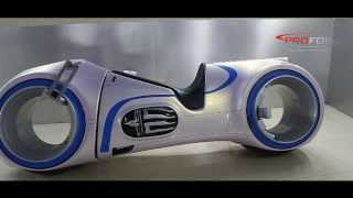 CAR WRAP DUBAI - NEUTRON (TRON MOVIE BIKE ) WRAPPED BY PROFOIL