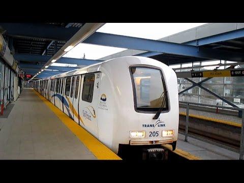 TransLink Millennium Line Skytrain - Columbia to VCC Clark (2015)