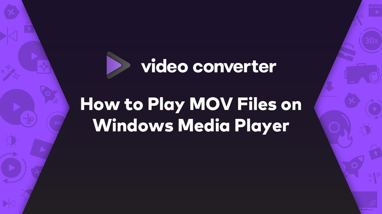 Solved: Can't Play MOV Files on Windows Media Player 12/11/10