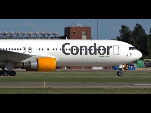 (HD) MSP Magic - Watching Airplanes Minneapolis St. Paul Airport - Plane Spotting