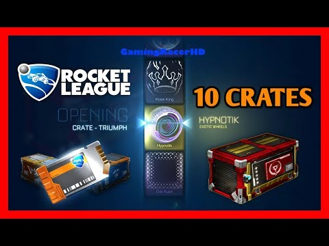Rocket League - Crate Opening # - THE NEW TRIUMPH CRATE! [p FPS]