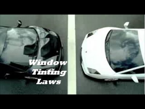 window tinting laws youtube