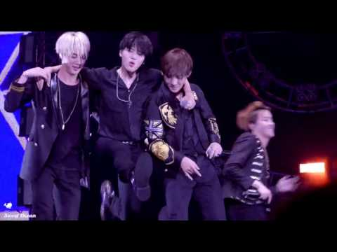 [FANCAM] [160702] BTS concert in Nanjing - Attack on Bangtan (Taehyung focus)