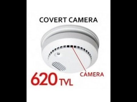 Hidden Spy Smoke Detector Camera Fully Functionally 620 Tv