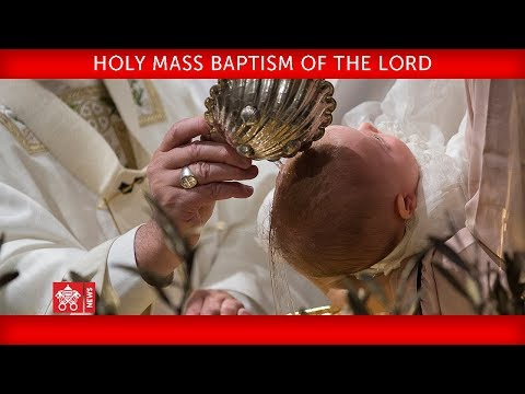Pope Francis Holy Mass Baptism of the Lord 2019-01-13