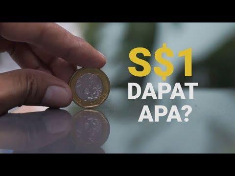 Uang S$1 (±Rp10.000) Dapat Apa Di Singapura? | Low Budget Trip Singapore