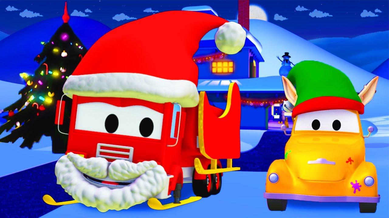 L Atelier De Peinture De Tom La Dépanneuse Frank Le Camion Pompier Est Le Père Noël Special Noël